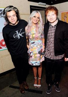 Harry Lou and Ed at Lou's book launch