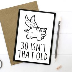 30th Birthday Card Funny Gift Cards