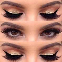 Golden eye makeup looks so luscious for all girls and ladies. So they would like to wear the golden eye makeup to compliment their gorgeous evening dresses. Golden shadows have a wide variety of shades for you to create different styles and looks. You can also opt for the shimmery golden eye makeup for a[Read the Rest]