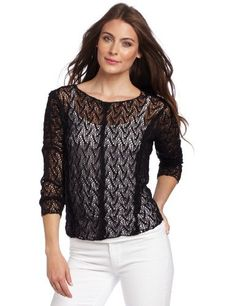 Sam & Lavi Women's Austin Web Sweater Sam & Lavi. $69.00. This open-knit cotton-blend Sam & Lavi sweater has long sleeves and a slightly longer back hem. Layering camisole not included.. 35% Polyester/65% Cotton. Dry Clean Only