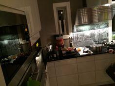 Dinner making in my new kitchen!