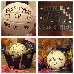 45 Homecoming Proposal Ideas Volleyball And Football - Subisim Cute Homecoming Proposals, Hoco Proposals, Homecoming Dance, Homecoming Mums, Homecoming Dresses, Homecoming Signs, Football Homecoming, Homecoming Hairstyles, Prom Pictures Couples