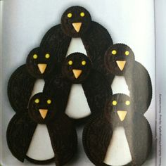 Penguin Cookies w/ Oreos