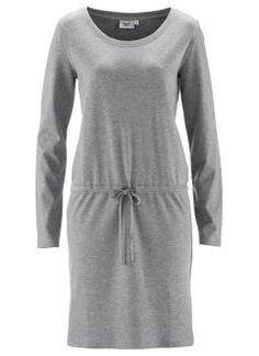 Vestido de malha, Cinza claro mesclado