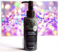The Saem Natural Condition Pore Deep Cleansing Oil Review,Cleansing Oil Review