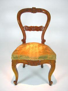 6 sedie antiche in olmo - Seconda metà del Secolo XIX