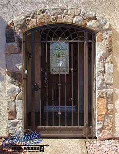 Tetra Wrought Iron Entryway Ew0515