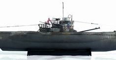 """Here are some more images of Revell's 1/72 scale Typ VII C/41 U Boot submarine. From Wikipedia"""" Type VIIC/41 was a slig..."""
