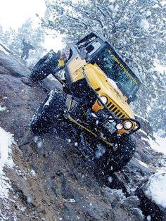 154 0611 06 Z+colorado Jeep Trail Jeep Wrangler Crawling - Photo 8959088 - Tri-Trail Wail Yellow Jeep Wrangler, 2000 Jeep Wrangler, Cj Jeep, Jeep Truck, Auto Jeep, Cheap Trucks, 1999 Jeep Cherokee, Jeep Trails, Four Wheel Drive