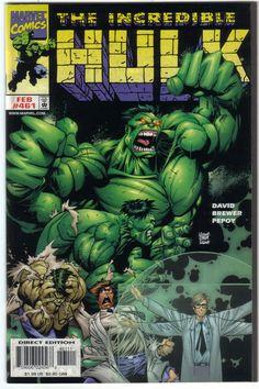The Incredible Hulk Comics   ... hulk transformation cover by adam kubert the comic is incredible hulk