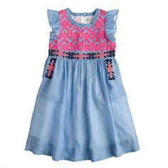 J.Crew - Girls' Nellystella® Alexa dress #kidsfashion