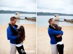 Sash and Paul's Portraits – Camp Cove, Sydney Harbour