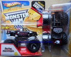 2013 Hot Wheels Metal Mulisha Monster Jam Truck 1/64 L Case 1ST Editions #HotWheels #MONSTERJAM