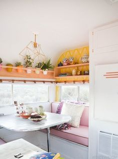 9 Hyper-Efficient Tiny Spaces That Get it Right | Tiny homes and tiny apartments are chock full of amazing ideas for living simply and stylishly no matter how much space you've got to work with, after all, you gotta get creative when your square footage is minimal.
