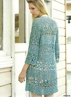 tunic - crochet chart