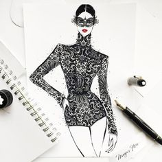 Fashion illustrator Megan Hess on how drawing dresses became a career: And why Coco Chanel is her favourite designer.