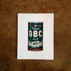 ABC Ale Poster