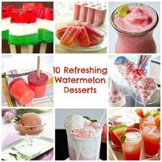 10 Refreshing Watermelon Desserts for Summer   Babble