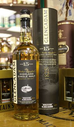 Glencadam 15 Year Old Single Malt Whisky 70cl £45.50 - Shop for Whisky with a rare and collectable range of Scotch Whisky