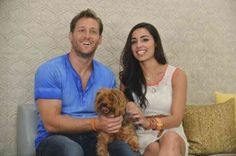 'Juan Pablo with Victoria before she got drunk'