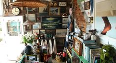 Mate Gallery: Up the street from the Resort on Coast Village Rd. -  The perfect place to pick up a vintage treasure, nautical accessory or nostalgic trinket to take home with you. We found an old Biltmore tennis trophy!