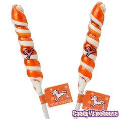 2 Pops from Orange & White Unicorn Pops: 24-Piece Display