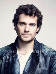 Henry Cavill - Man of Steel with curls