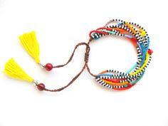 Awesome Etsy listing at https://www.etsy.com/pt/listing/195650048/multi-strand-african-bracelet-tribal