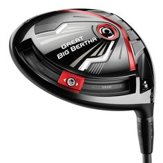Callaway Great Big Bertha Driver. The new Callaway Great Big Bertha Driver is designed to get the most distance for ALL golfers.