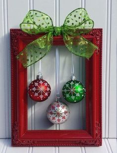Cute and easy Christmas decor is one of my favorites.