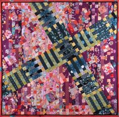 "Japanese quilt, ""Spring in Japan"""