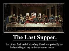 zombie last supper funny