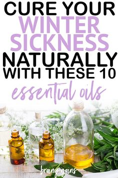 The Best Essential Oils for Colds, the Flu, and Winter Blues. This list of essential oils is exactly what you need for healthy winter sickness home remedies.