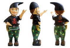 Mighty Metal Bob® Gartenzwerg Limited Edition  http://www.mightymetalbob.com