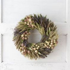 Bay & Lavender Wreath in House+Home TRENDING Fresh Finds at Terrain