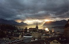 Lucerne, Switzerland-the most beautiful town I've ever seen