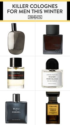 Smell Fresh With These Best New Colognes for Men is part of Best fragrance for men - Whether you like the dark and heavy scents of musk and tobacco, or the lighter notes of citrus and amber, there's a men's cologne here that'll be perfect for you Best Perfume For Men, Best Fragrance For Men, Best Fragrances, Mens Perfume, Parfum Musc, Tattoos Familie, Best Mens Cologne, Top 10 Men's Cologne, Cheap Cologne
