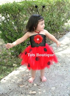 Ladybug Tutu Dress by totsboutique on Etsy, $30.00