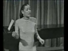 Billie Holiday - Please Don't Talk About Me When I'm Gone - live 1959 - YouTube