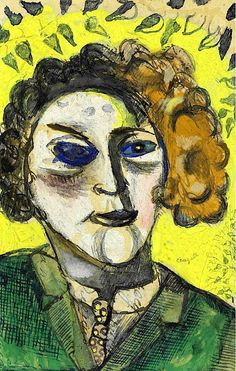 Self Portrait  Marc Chagall