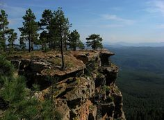Is it time to go camping yet?? A view from the edge - Mogollon Rim, Arizona