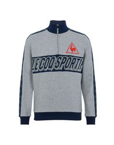 420e07ec40f Le Coq Sportif Tri Lf Football Sweat Zippé M - Men Sweatshirt on YOOX. The  best online selection of Sweatshirts Le Coq Sportif.