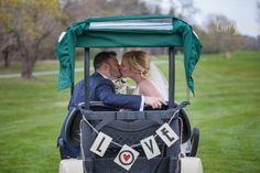 #plymouthccweddings #golfcoursewedding #golfcart #love #wedding #ladybugfoto