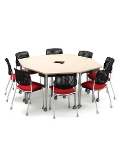 Kite creates an agile working environment where a single person can quickly reconfigure tables into new working styles.