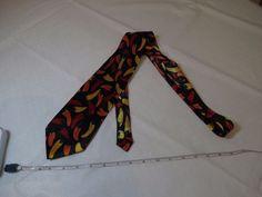 Christian Giorgiou handmade peppers hot necktie tie neck chili tamale men's red  #ChristianGiorgiou #tie