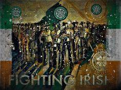 Celtic Fc, Fighting Irish, Glasgow, Ireland, Sports, Painting, Art, Hs Sports, Art Background