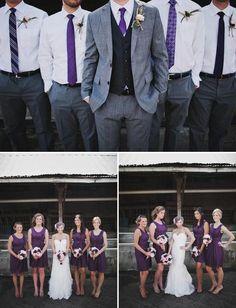 image of Lavender Wedding Color Palette