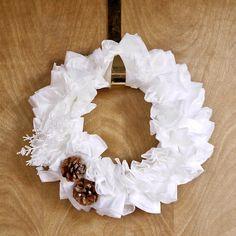 DIY Coffee-Filter Wreath