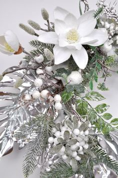 Large Christmas wreath, Silver and white Christmas wreath, Christmas wreath for front door, Winter wreath for front door, READY TO SHIP Large Christmas Wreath, Christmas Wreaths For Front Door, Xmas Wreaths, Elegant Christmas, Green Christmas, Centerpiece Decorations, Christmas Centerpieces, Christmas Decorations, Flower Mobile