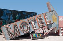 The Neon Museum/Boneyard in Las Vegas.  Awesome place, took amazing photos.  Highly recommend!